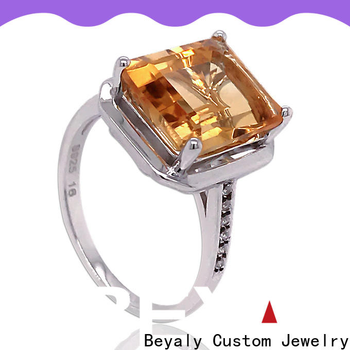 BEYALY numerals hottest engagement rings Supply for wedding