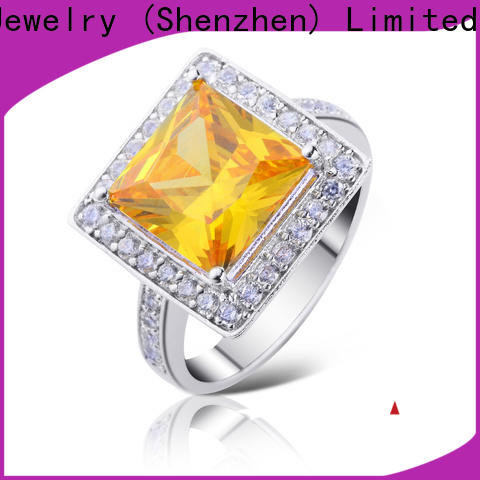 Best sterling silver ring silver factory for daily life