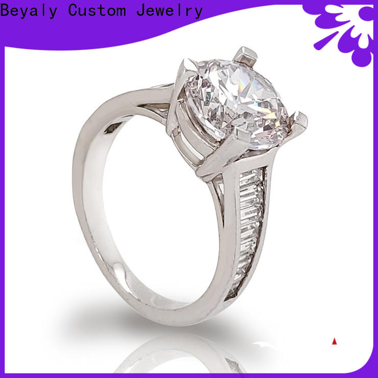 BEYALY New best engagement ring bands Supply for wedding