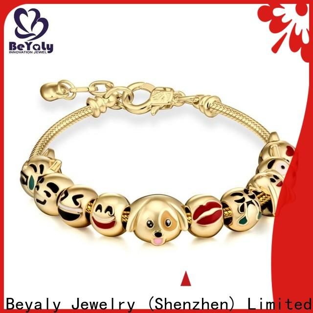 BEYALY cuff popular bangle bracelets with charms for business for advertising promotion