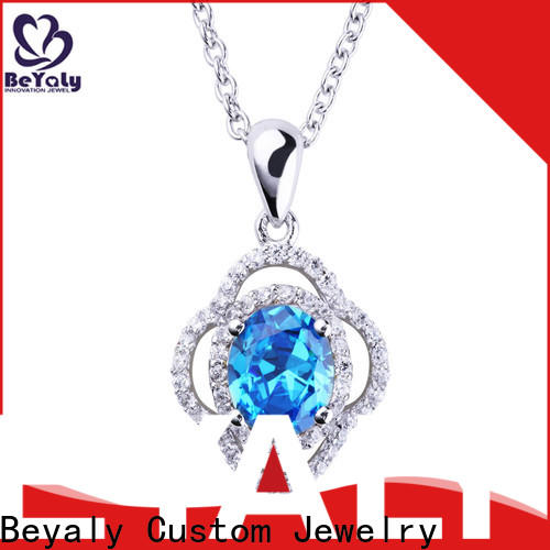BEYALY beauty dog tag jewelry necklace for women