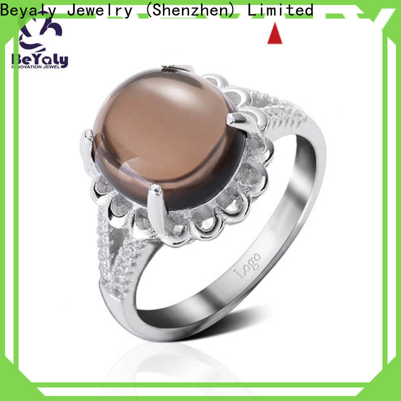 BEYALY sterling most popular wedding ring sets Supply for men