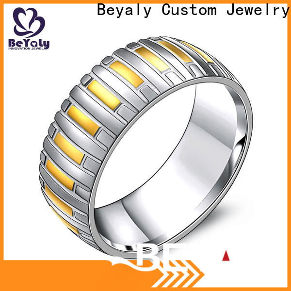 Wholesale 10 best engagement rings inlay factory for men