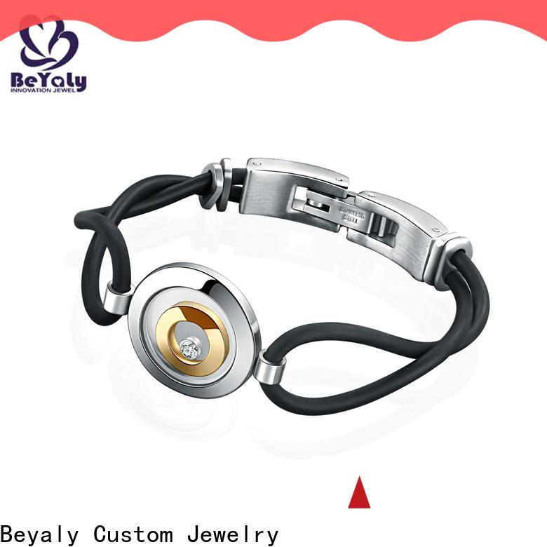 BEYALY New silver hoop bracelet company for ceremony