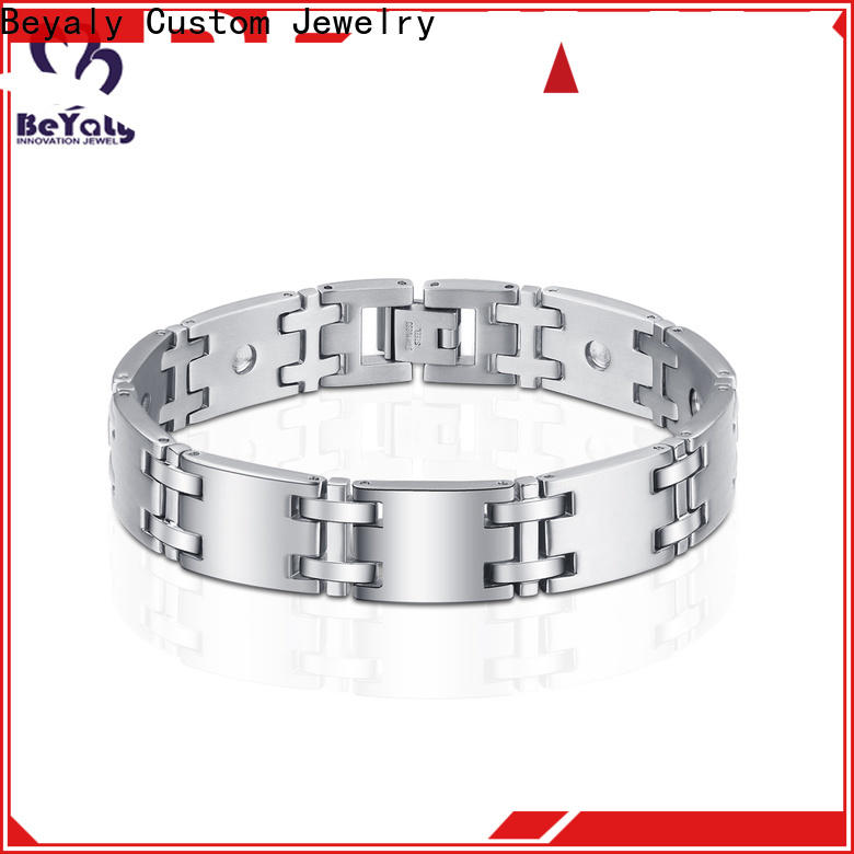 New solid silver bangles and bracelets color for business for advertising promotion