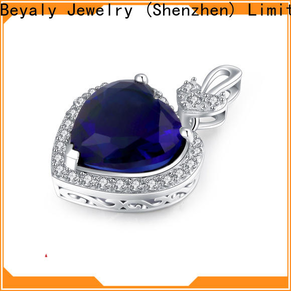 BEYALY round charm jewelry necklaces for business for wife