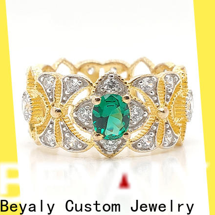 BEYALY china lady rose crown ring manufacturers for women