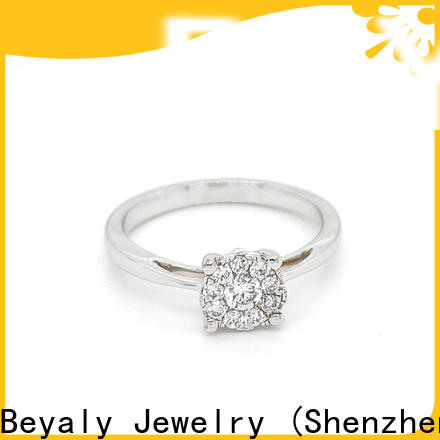 BEYALY platinum most popular ring setting Suppliers for men