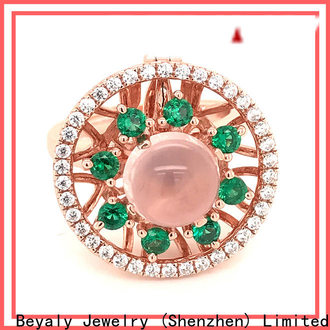 BEYALY New most popular bridal ring sets for business for women