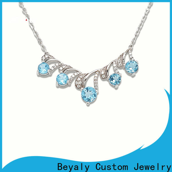 BEYALY stock initial jewelry necklace company for wife