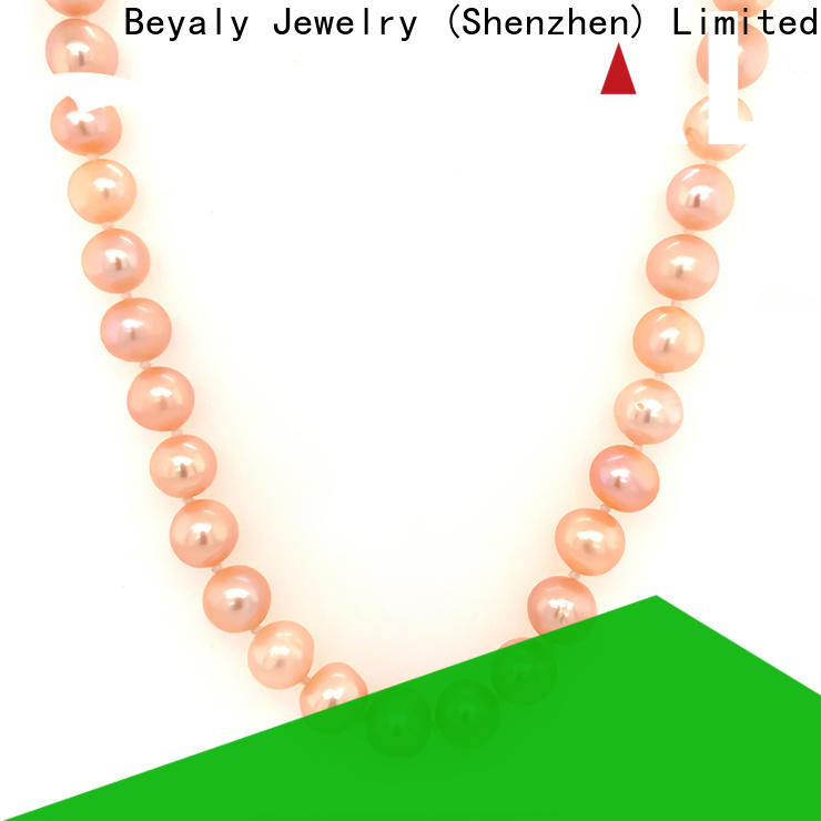 BEYALY Top long gold chain necklace with pendant Suppliers