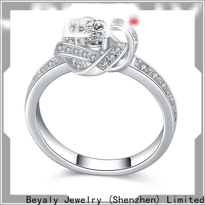 BEYALY aaa popular engagement ring settings factory for daily life
