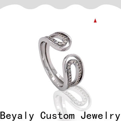 BEYALY numerals good size wedding band for business for daily life
