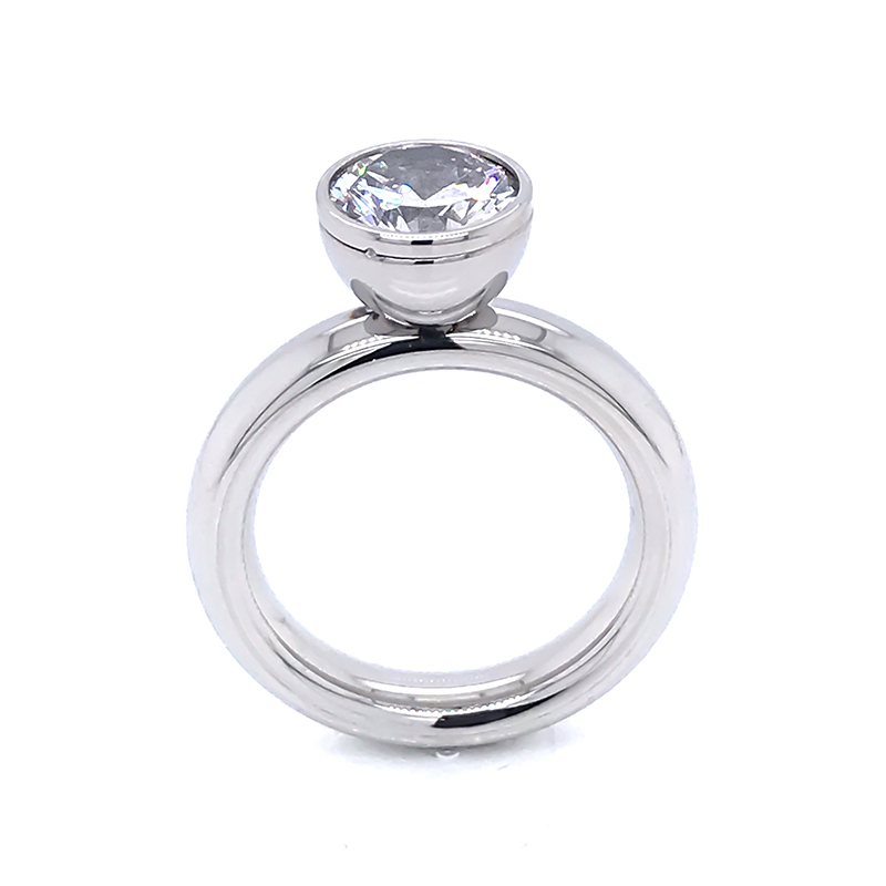New most popular wedding sets silver for business for women-2