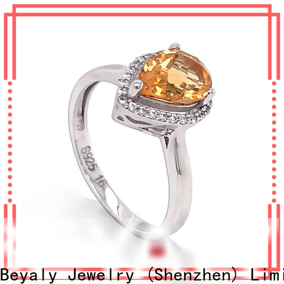 BEYALY design popular wedding rings for women Suppliers for daily life