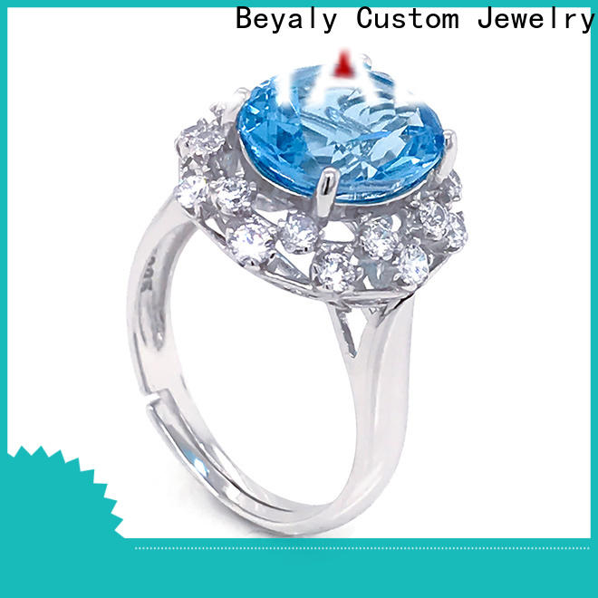 New popular wedding ring stores inlay Supply for daily life