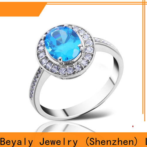 BEYALY brown top diamond ring designers for business for men