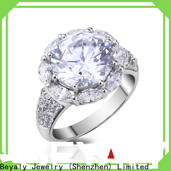 BEYALY promise initial ring manufacturers for women