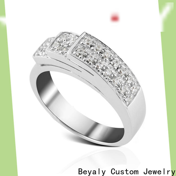 BEYALY promise most popular ring setting Supply for daily life