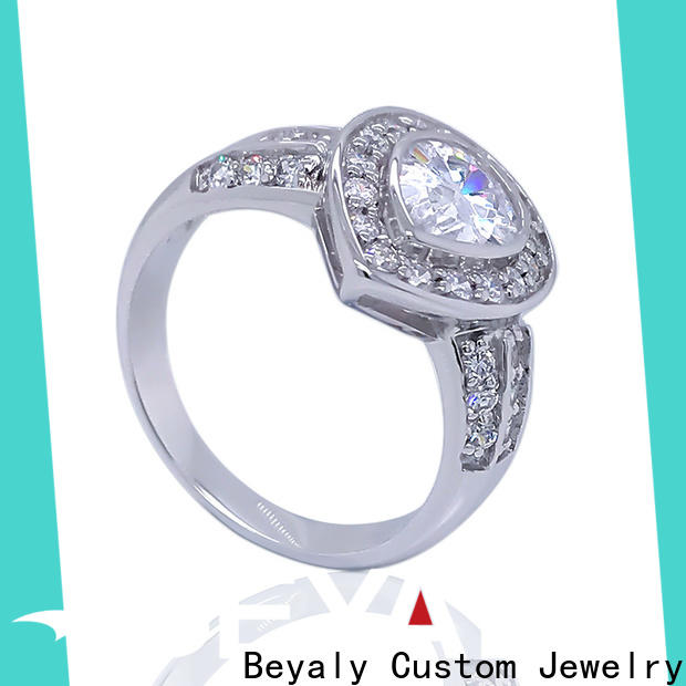Custom popular diamond engagement rings bulk manufacturers for men