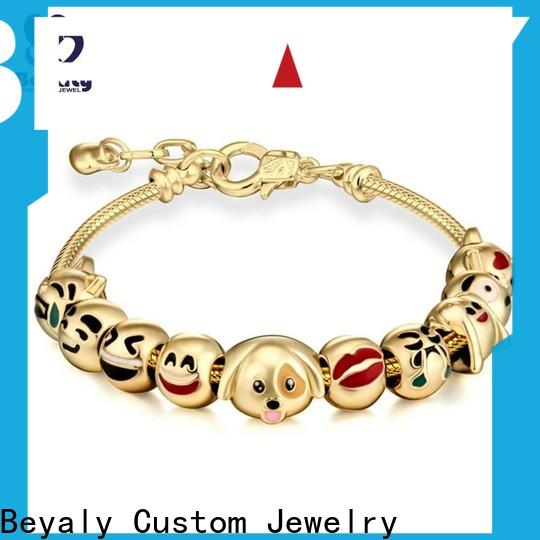 BEYALY simple gold silver rose gold bracelets Suppliers for ceremony