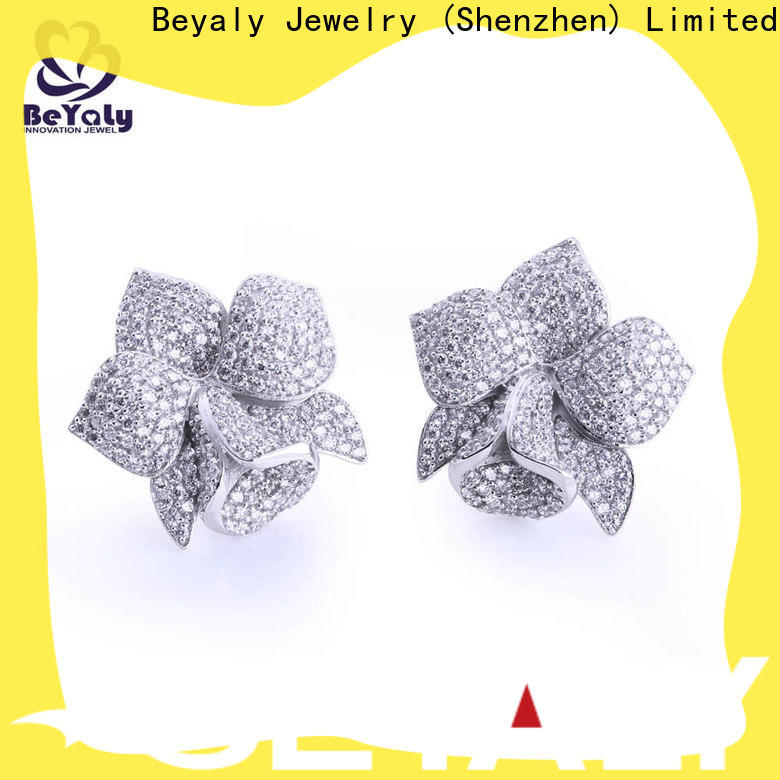 Top beautiful earrings with price zircon company for women
