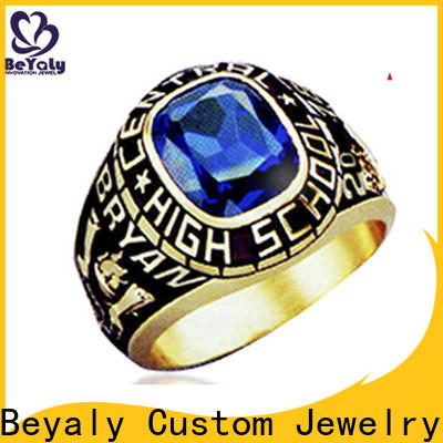 New modern class rings painting manufacturers for graduated