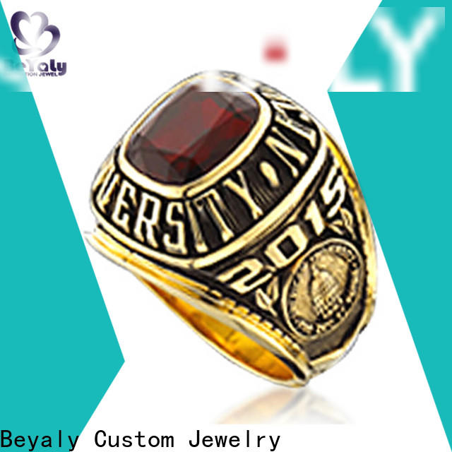 BEYALY good quality high school graduation rings company for students