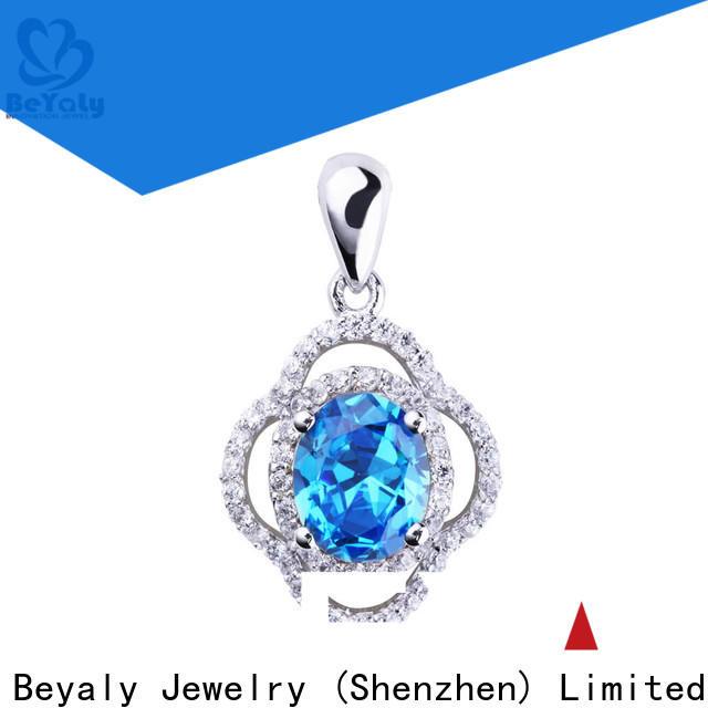 BEYALY Custom bead charm bracelets sterling silver Supply for girls