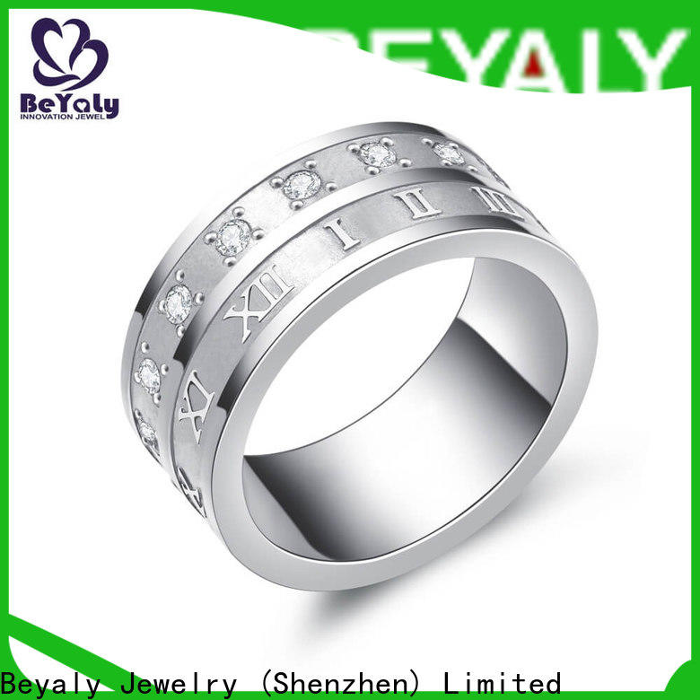 BEYALY Custom most popular ring styles factory for men