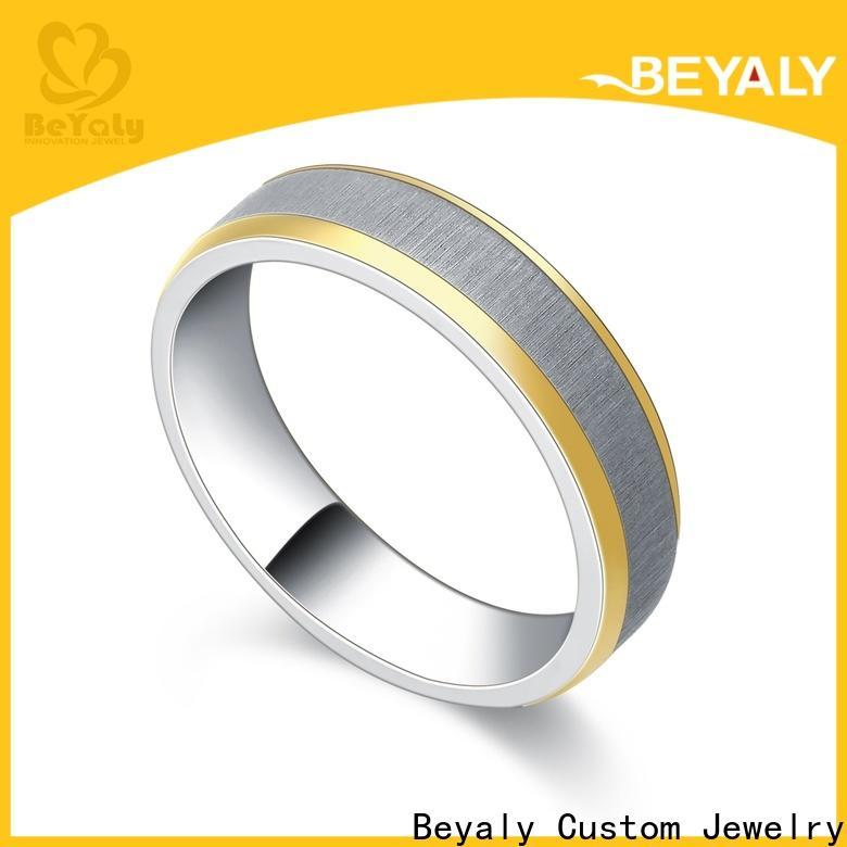 diamond platinum ring plating manufacturers for wedding