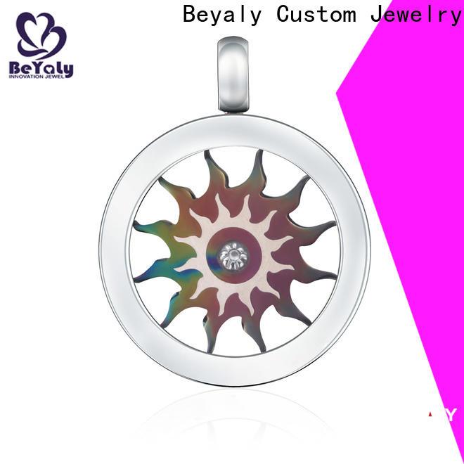 BEYALY Wholesale silver clip on charms for bracelets company for girls