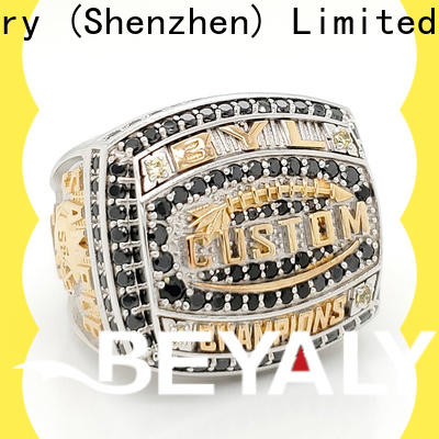 BEYALY green semi pro football championship rings for business for athlete