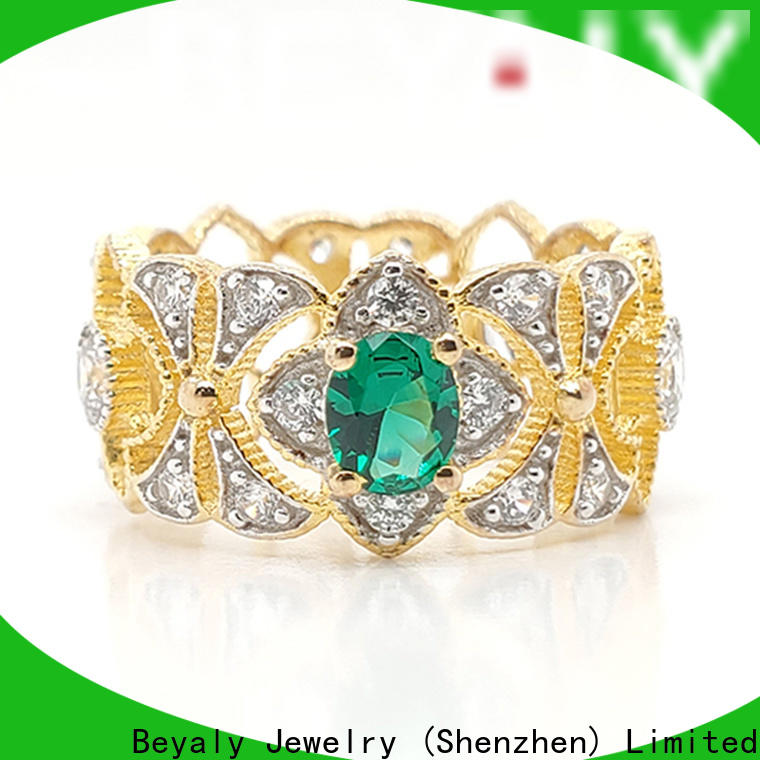 BEYALY five point crown ring supplier for women