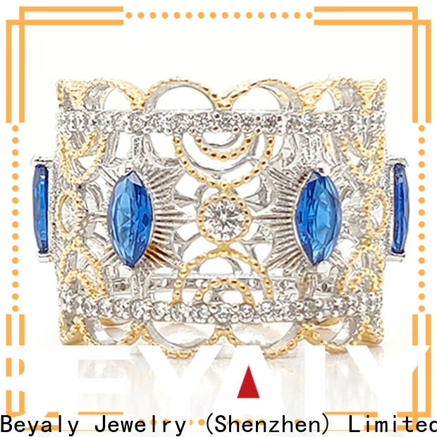 Latest princess ring and necklace oem for wedding