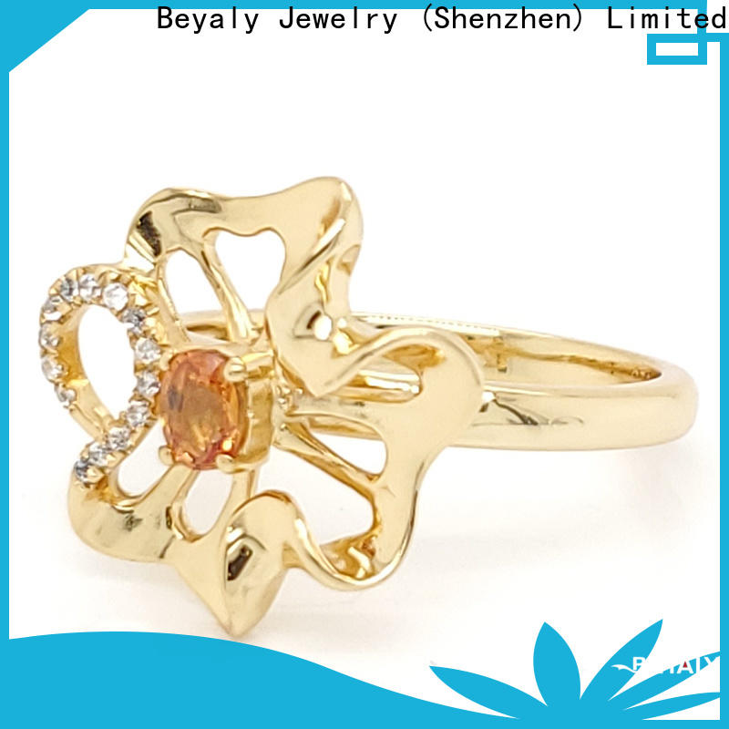 BEYALY plating top diamond ring designers Supply for women