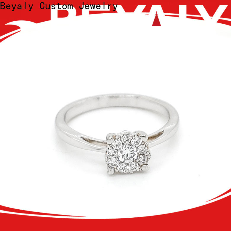 BEYALY Latest sterling silver ring factory for women