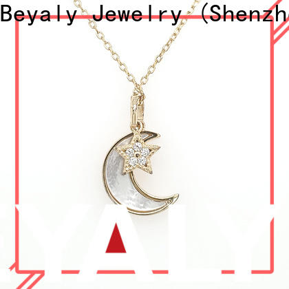 BEYALY stylish initial jewelry necklace manufacturers for ladies