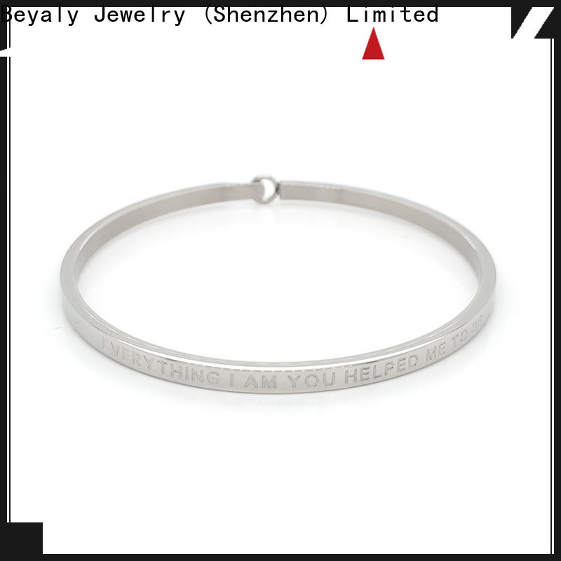 High-quality stackable bangle bracelets with charms cubic Supply for ceremony