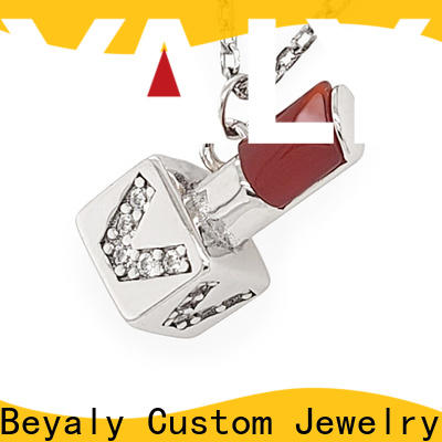 BEYALY New clip on necklace charms for business for ladies
