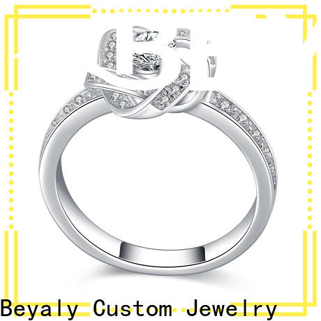 BEYALY Wholesale over the top wedding rings manufacturers for wedding