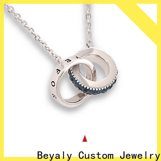 High-quality initial jewelry 18k Supply for ladies