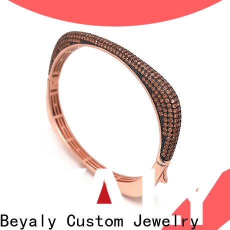 fashion gold friendship bangle looping manufacturers for business gift