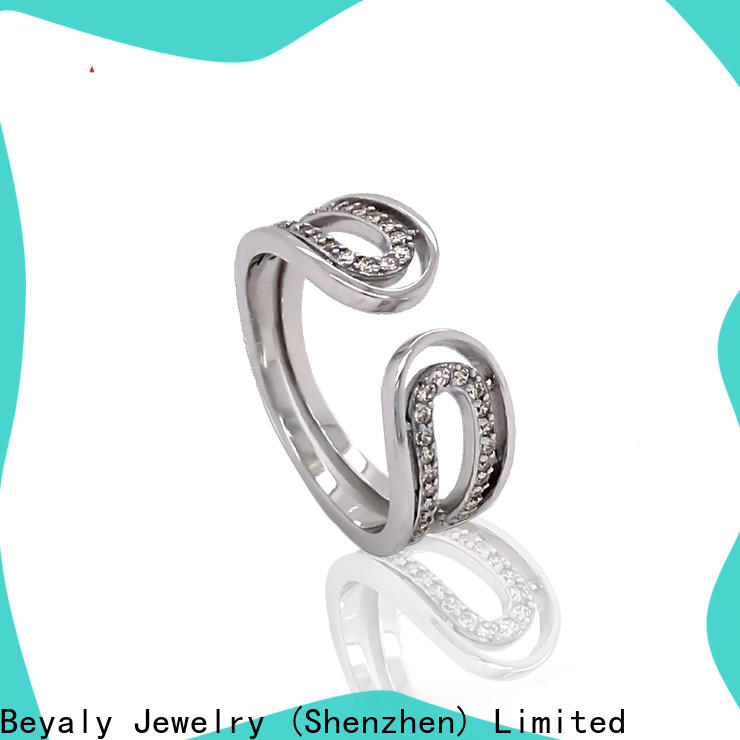 diamond over the top wedding rings plating Suppliers for daily life
