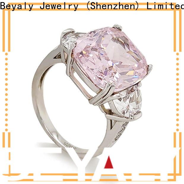 BEYALY silver top diamond engagement ring designers factory for men