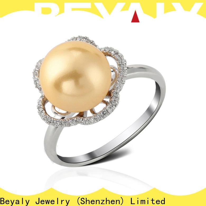 Custom initial ring silver for business for men