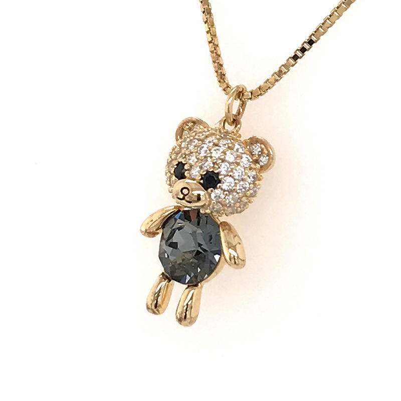 product-fashion jewelry necklace 2019 wholesale gold filled jewelry silver animal pendant-BEYALY-img-1