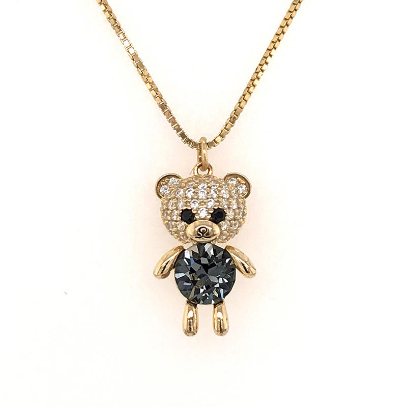 product-BEYALY-fashion jewelry necklace 2019 wholesale gold filled jewelry silver animal pendant-img