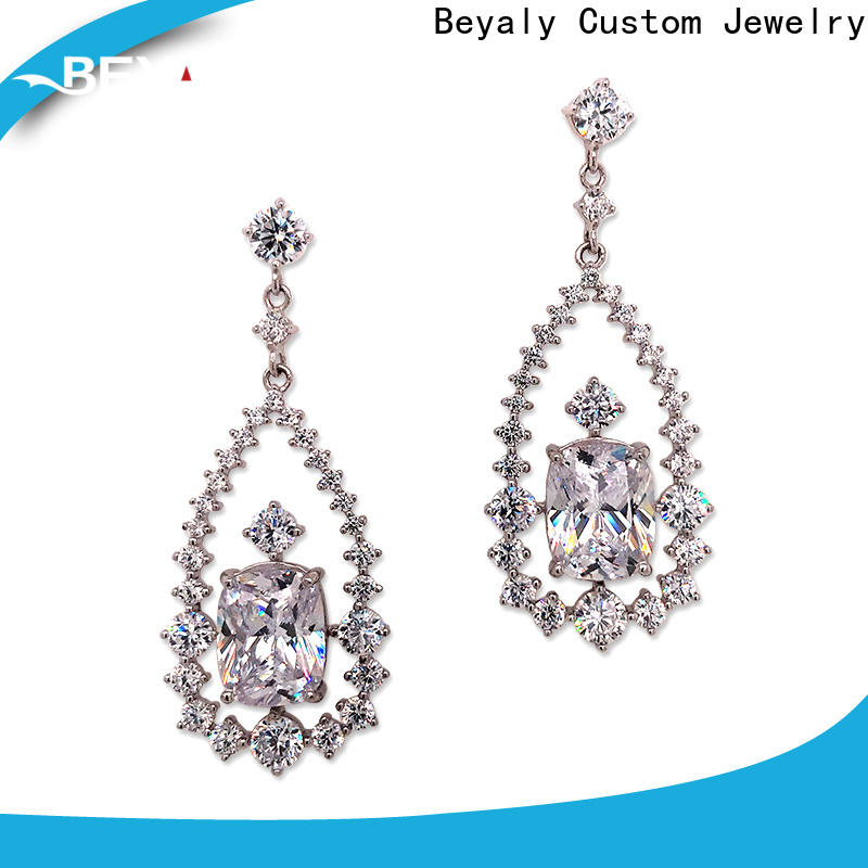 BEYALY Best gold hanging earrings with price for business for anniversary celebration