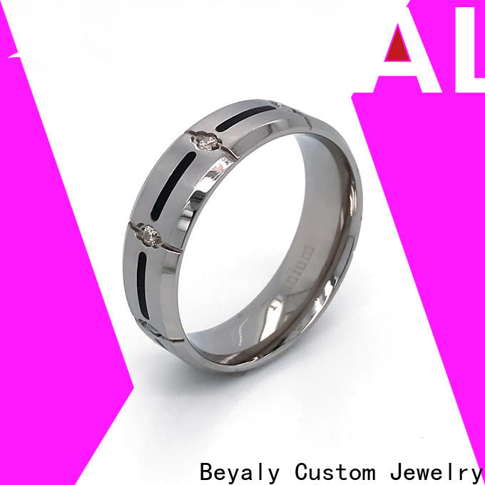 customized good size wedding band roman for business for daily life